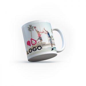 Mug panoramique personnalisable impression 360 Artem Communication Objets Publicitaires